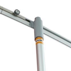 Зажимные планки мобильного выставочного стенда Magnumm Kalibr 900 mm (магнум калбир 900 мм)