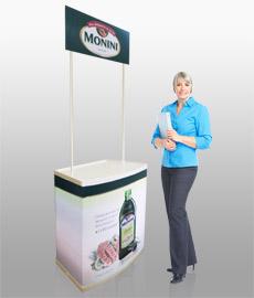 Промостойка Promo 3, промо стойки, столы для акций