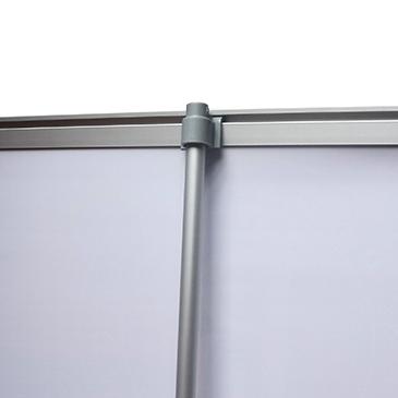 Зажимные планки мобильного выставочного стенда Magnumm Roll-Up Easy Pull (магнум роллап изи пул)